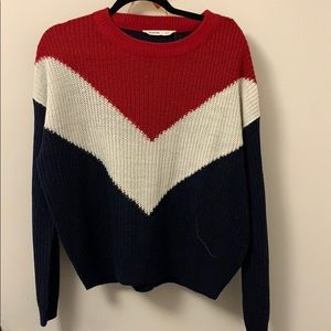 Bluenotes Sweater Cardigan navy, red, white 💙❤️🤍